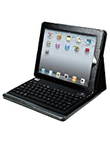 Adesso Compagno 2B, Bluetooth Keyboard with Carrying Case for iPad 2 and iPad (3rd and 4th Generation) - Black