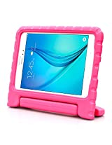 Samsung Galaxy Tab A 8.0 Case - i-Blason ArmorBox Kido Series Light Weight Super Protection Convertible Stand Cover Case 2015 Release (Pink)