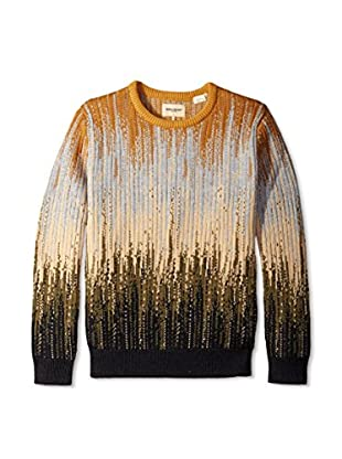 Levi's Made & Crafted Men's Mountain Print Crew Neck Sweatshirt
