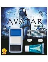 Avatar Navi Make Up Kit, Blue, One Size