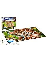 4D Cityscape Inc 4D National Geographic Ancient Rome Puzzle Puzzle