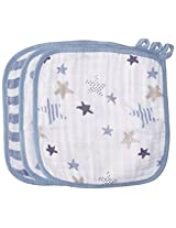 aden + anais Classic Washcloth, Rock Star, 3 Pack