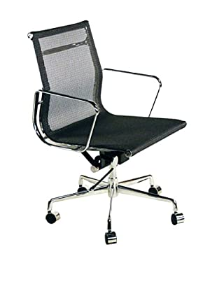 Control Brand Mid-Century Mesh Surface Executive Office Chair, Grey