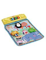 Fisher-Price Discover 'n Grow Musical Activities Play Wall for Playards