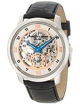 Charles-Hubert, Paris Men's 3933 Premium Collection Stainless Steel Mechanical Watch