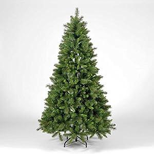 DholDhamaka Pine Christmas Tree with Lights & Ornaments - Green