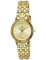 Titan Analog Multiclolor Dial Women's Watch - ND354YM01