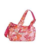 Ju-Ju-Be Hobo Be Messenger Diaper Bag, Perfect Paisley