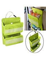 Car Auto Van Seat Multi Pocket Hanging Holder Bag Organiser Storage Tarvel Pouch