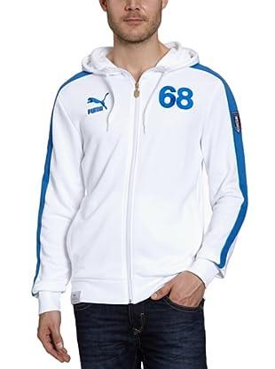 Puma Sweatjacke Football (white-team power blue-figc)