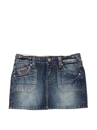 Pepe Jeans London Falda Shant (Azul)