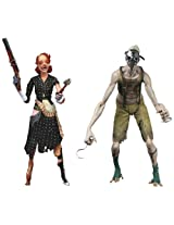 """NECA Bioshock 2 """"Crawler and Lady Splicer"""" Action Figure (2-Pack), 7"""""""