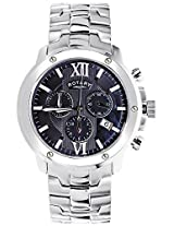 Rotary Silver Chronograph Men Watch GB0283704