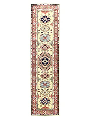 Bashian Rugs Hand Knotted Fine Kazak, Ivory, 2' 6