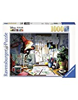 Disney Pixar the Artist's Desk (1000 PC Puzzle)