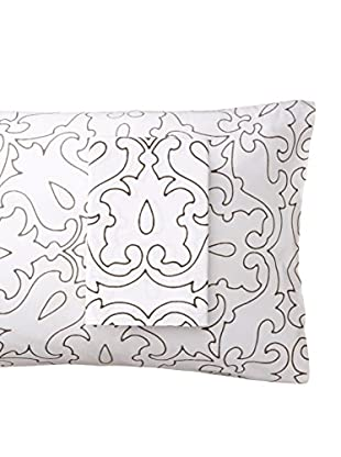 Allem Studio Pair of Morocco Standard Pillowcases, Grey
