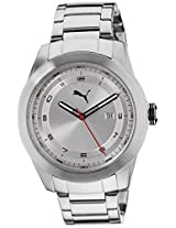 Puma Analog White Dial Men's Watch - 89281301