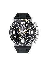 Caterpillar Analogue Black Dial Men's Wristwatch DT.143.21.111