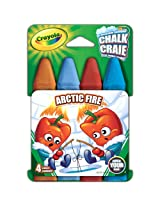 Crayola Build Your Box Fire N Ice Chalk (4 Count)