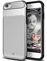 iPhone 6S Case, Caseology [Vault Series] [Silver] Slim Design Rugged Protective Armor Cover [Active Armor] for Apple iPhone 6S (2015) & iPhone 6 (2014)
