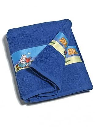 Cartoons Home Textile Telo Lupo Alberto (Blu)
