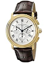 Frederique Constant Men's FC-292MC4P5 Classics Analog Display Quartz Brown Watch