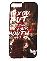 Sun Mobisys Soft Designer Print Back Cover Case for Micromax Canvas Knight 2 E471 Foot in Mouth