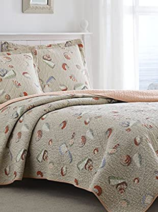 Laura Ashley Weekend Getaway Quilt Set