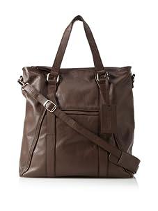 Dalexanders New York Men's The Classic Bag, Brown/Brown