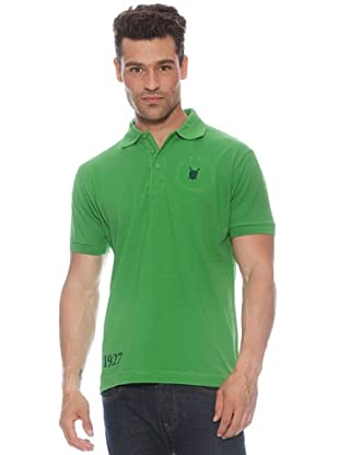 Polo Club Poloshirt Kurzarm Custom Fit Wappen
