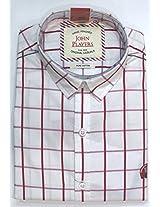 John Players Men's Cotton Casual Shirt