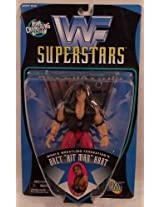 Wwf Best Of 1997 Series Bret Hitman Hart Figure With Exclusive Hart Foundation Vest