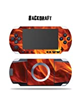 Mightyskins Protective Vinyl Skin Decal Cover Sticker For Sony Psp Back Draft