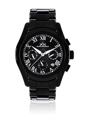Hindenberg Reloj Hombre 300-H Overcast Negro