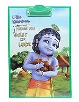 Little Krishna - Exam Pad Best Of Luck Print