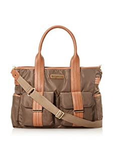 Perry Mackin Zoey Diaper Tote, Brown