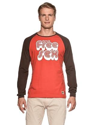 Datch Camiseta Ariccia (Rojo / Marrón)