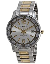 Casio Enticer Analog Silver Dial Women's Watch - LTP-1359SG-7AVDF (A901)