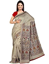 Tagbury multi colour pashmina saree