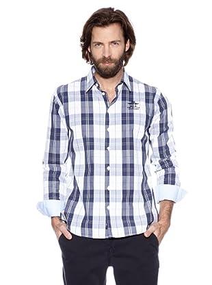 NZA New Zealand Auckland Camisa Básica Hiria (Marino / Blanco)