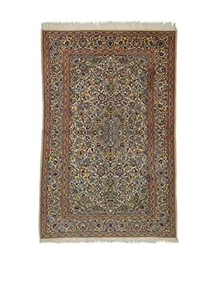 Eden Teppich   Kashan 135X208 mehrfarbig