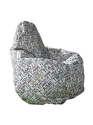 Contemporary Living Sitzsack I Love You mehrfarbig