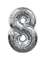 8 Number Foil Balloon