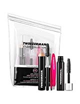 Tweezerman Hot Pink Mini Brow Rescue Kit