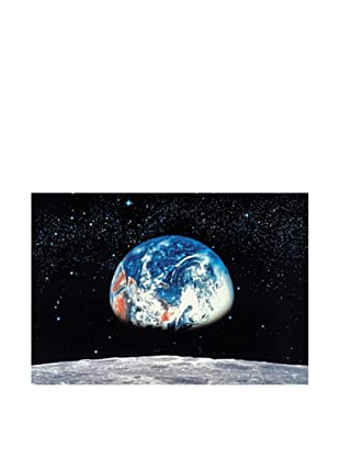 Brewster Home Earth and Moon Wall Mural