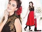 Ravishing Ready Made Red Anarkali Dress
