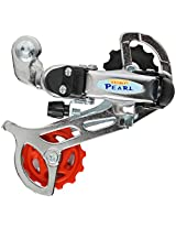Jkg Youth 6 Speed Drailleur For Bicycles, Small, Silver
