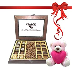 Sinfull Collection of Chocolates,Truffles and Milk Nuttieswith Combo - Chocholik Belgium Gifts