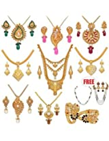 Fascinating 1 Gram Gold Plated Jewellery Collection