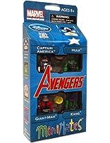 Diamond Select Toys Marvel Minimates Exclusive 4Pack Avengers Captain America Hulk GiantMan Kang